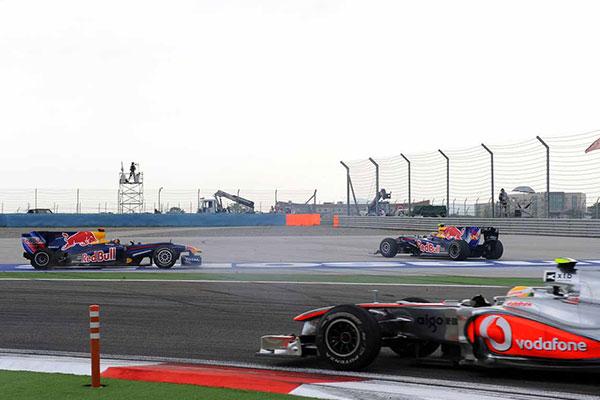 Vettel és Webber ütközése a Török nagydíjon