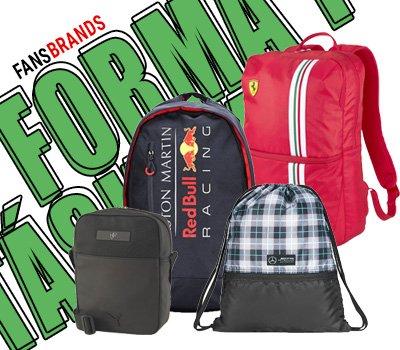 Forma 1 táskák