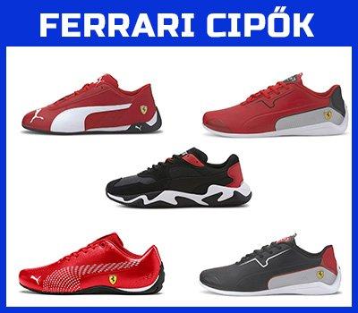 Ferrari cipők a FansBRANDS-nél