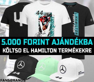 5000 forint Hamilton termékekre