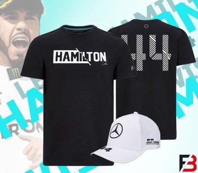 Lewis Hamilton sapkák és póló raktárról