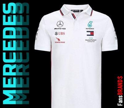Mercedes csapat póló