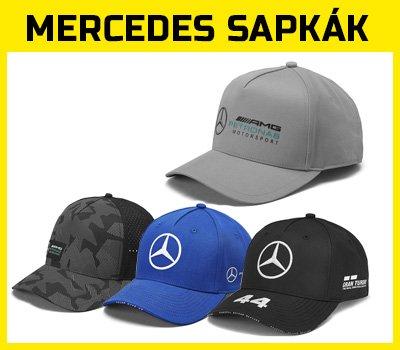 Mercedes sapkák eszméletlen választékban