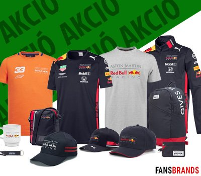 Red Bull Racing akciók a FansBRANDS-nél